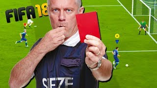 WHAT IF WE ALL GET RED CARDS!? - FIFA 18 with The Crew!