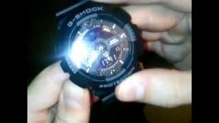 How to set casio g shock ga-110