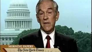 Ron Paul Predicted Housing Bubble, Worst US Financial Crisis of 2008 IN 2003