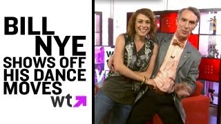 Bill Nye Shows Off His DWTS Dance Moves | LIVE