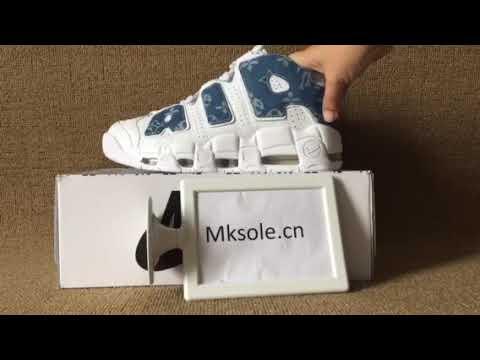 129b6d72986a Nike air more uptempo white jean blue x lv x supreme (mksole.cn ...