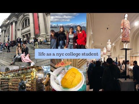 NYC COLLEGE WEEK IN MY LIFE | THE MET, SMORGASBURG, & $2 COFFEE thumbnail