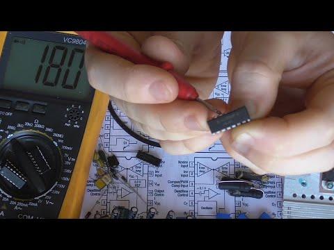 Проверка TL494 (KA7500) мультиметром