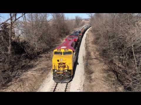 IAIS 516 GE ES44AC Rock Island Railroad MP13 Cedar Rapids & Iowa City Rails to Homestead Amana