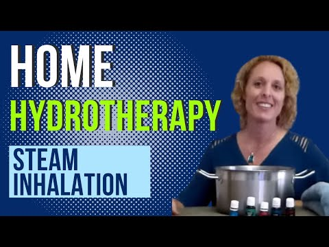 Home hydrotherapy steam inhalation-Dr. Shawna Eischens