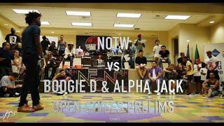 NOTW vs BOOGIE D/ALPHA JACK | Open Styles Prelims | #Neon16 | #SXSTV