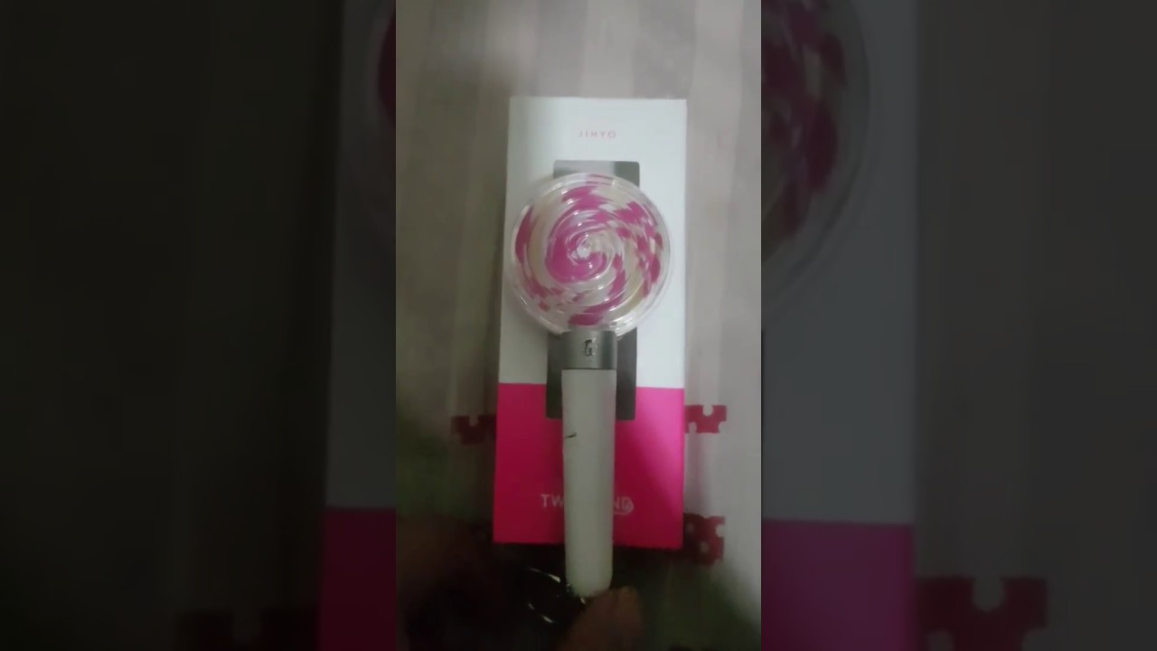 TWICE mini Light Stick Keyring Candy Bong (Jihyo)