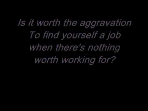 Oasis Cigarettes and Alcohol w/ lyrics
