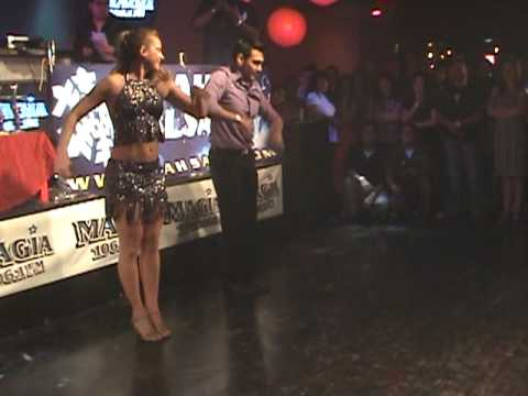 2010 Utah King and Queen Bachata Competition - Dianna & Tony