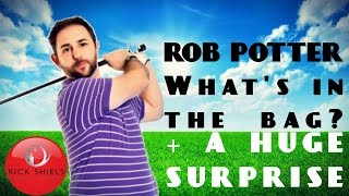 ROB POTTER WHAT'S IN THE BAG? + A HUGE SUPRISE!