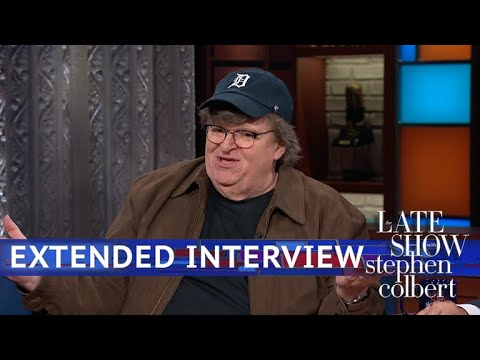 "Stephen Colbert vs. Michael Moore Talks ""Fahrenheit 11/9"" Extended Interview"