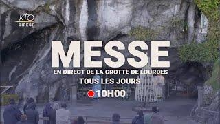 Messe de 10h à Lourdes du 28 février 2021