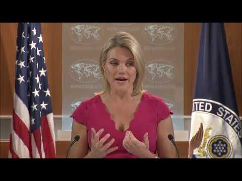 Department Press Briefing - September 14, 2017