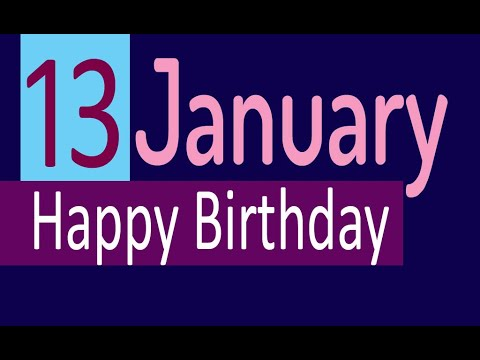 pix January Birthday Images 13 january special new birthday status video happy birthday wishes birthday msg quotes जन मद न