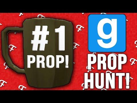 Gmod: Number One Prop! (Garrys Mod Prop Hunt - Comedy Gaming)