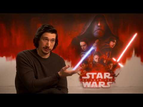 "Sarina Bellissimo interviews Adam Driver (""Star Wars - The Last Jedi"")"