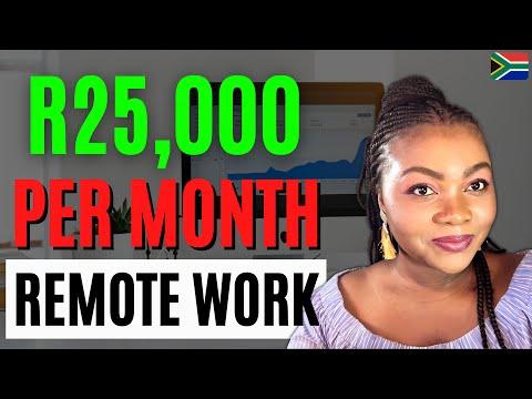 How To Make Money Online in South Africa *Legit Remote Jobs* (Make Money Online 2021)