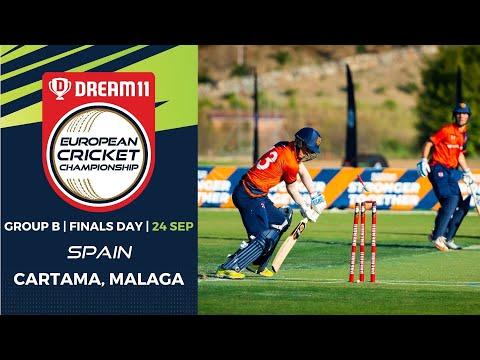 🔴 Dream11 European Cricket Championship | Group B Finals Day Cartama Oval Spain | T10 Live Cricket