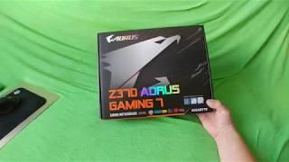 Z370 AORUS Gaming 7 unboxing