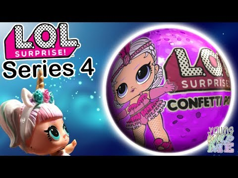 LOL Surprise Dolls Series 4! Biggie Pet, Doll House, Live Pets UPCs + Wave 2 Confetti Pop Unboxing