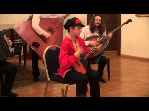 Балалайка, Балалайка-Контрабас, Домра и Баян играют вместе! Что такое квартет.