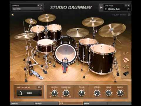 kontakt studio drummer free