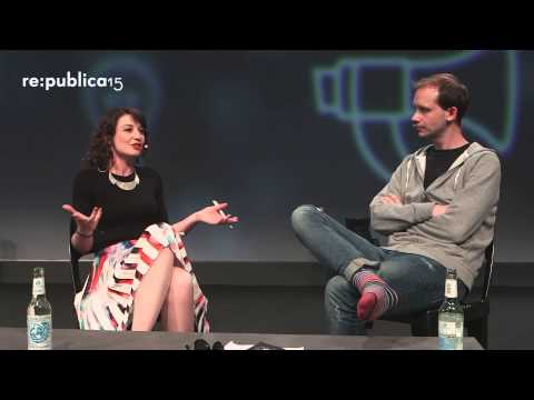 re:publica 2015 - Fireside Chat: Peter Sunde
