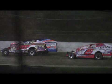 Ransomville Speedway Big Block Modifieds Super Dirt Car Series Summer Nationals Highlights 8-8-18