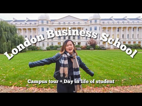 day in the life: London Business School student (Masters in Management) | Campus Tour