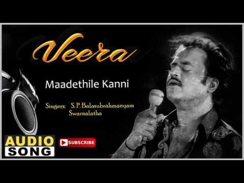 Maadethile Kanni Song | Veera Tamil Movie | Rajinikanth | Meena | Roja | Ilayaraja | Music Master