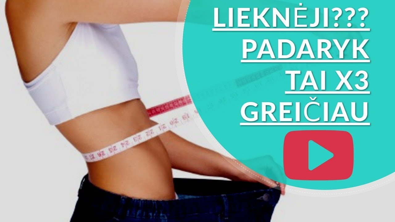 reklama numesti svorio