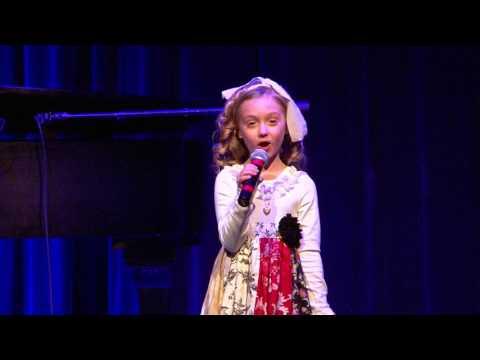 Presley Edwards singing Maybe 4-2-2017