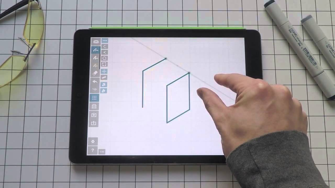 Learn Concepts Four Ways To Draw A Cube Youtube