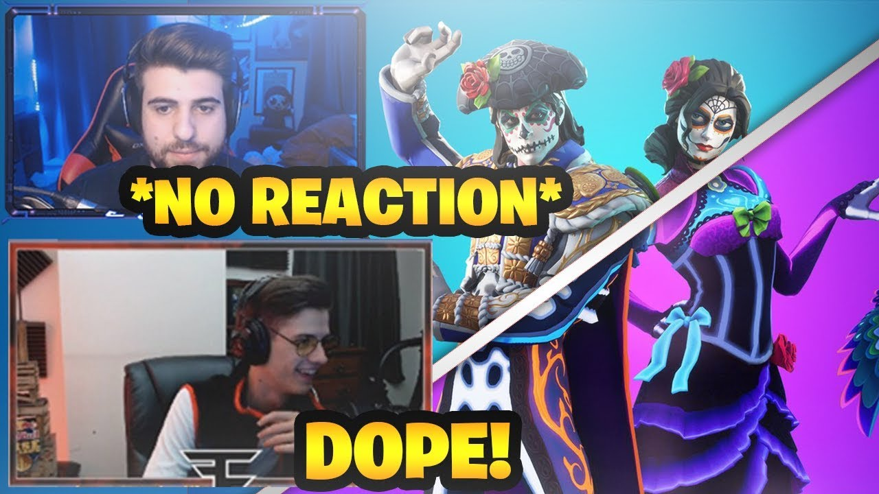Streamers react to new dante rosa skins in fortnite - Fortnite dante ...