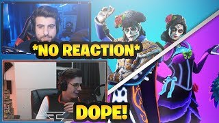 Streamers React to 'NEW' DANTE - ROSA SKINS in Fortnite Item Shop 😍 (Sypher, NateHill, Dakotaz etc)