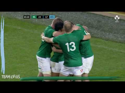 Irish Rugby TV: Ireland V Argentina 2018 GUINNESS Series Highlights