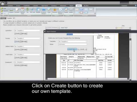 How to customize invoice template - Xin Invoice software 30 - YouTube - customize invoice