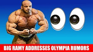 What's Going On With Big Ramy?