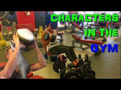 Annoying Characters found in ALL gyms!