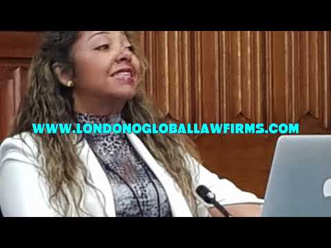 Maria Londono attending the meeting of All Party Parliamentary Group of Legal and Constitutional Aff