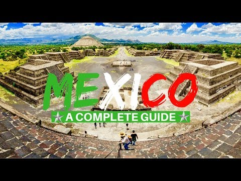 Mexico City Complete Guide: Untold Tips (Mexico 2018)