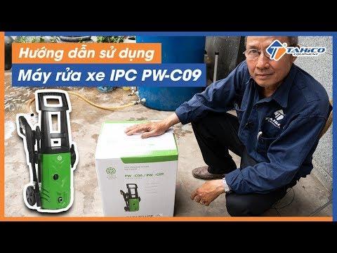 Hướng Dẫn Sử Dụng Máy Rửa Xe Gia đình IPC PW-C09
