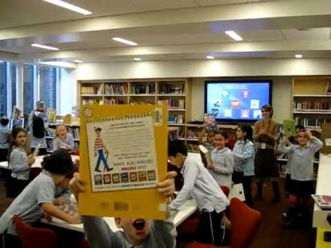 Ramaz Lower School Library Back in Business (2 of 2)
