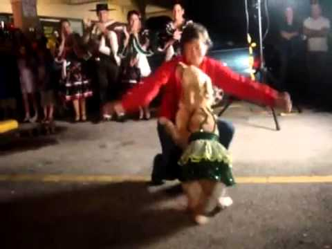 Dog dancing the Merengue ORIGINAL