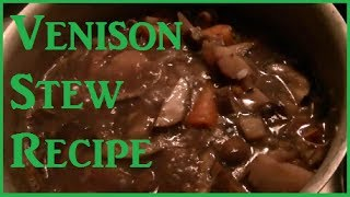 Winter Venison Stew