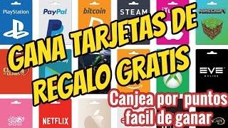 Como ganar tarjetas de regalo gratis¡ Consigue tarjetas gratis PSN, netflix, amazon,xbone