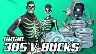 LIVE RUSH MISSION 305 VBUCKS A GAGNER FORTNITE SAUVER WORLD FR PS4 PC SWITCH XBOX