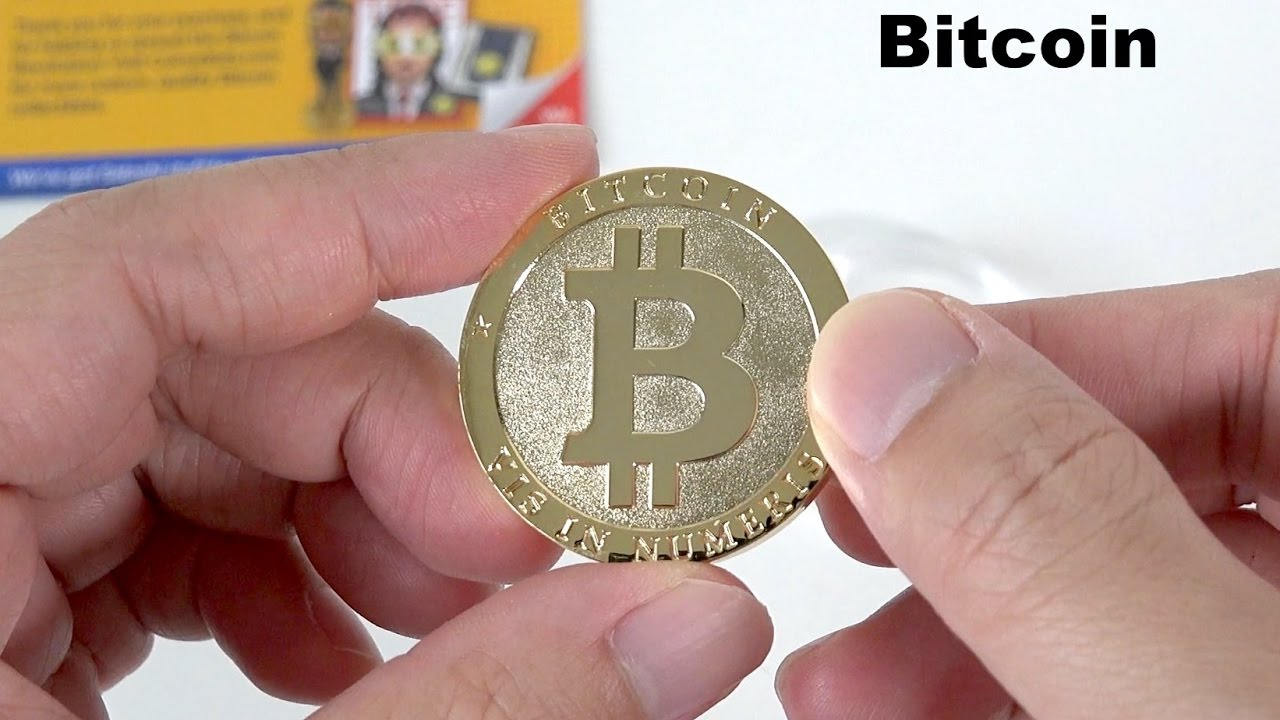 The Physical Bitcoin Commemorative Collectors Coin By CoinedBits