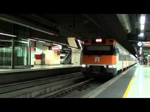 Treinen in Barcelona (09-2013)
