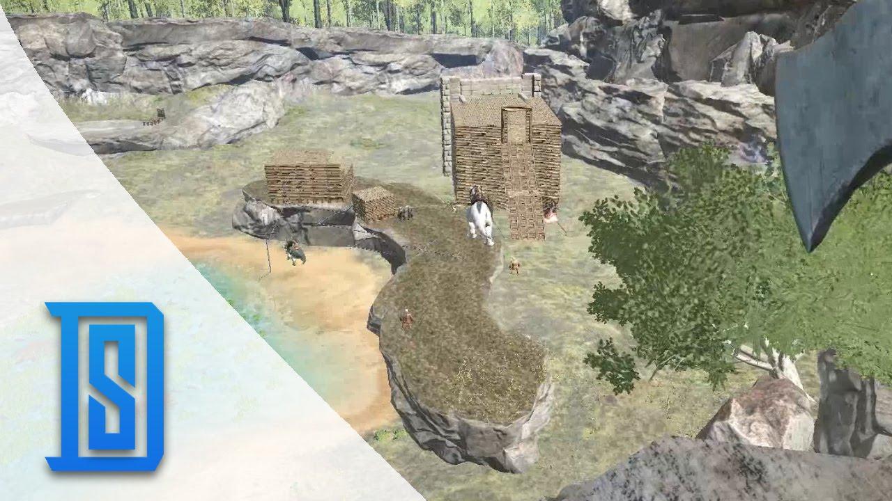 Ark Survival Evolved   Season 2 15   Crazy Build Ideas   YouTube